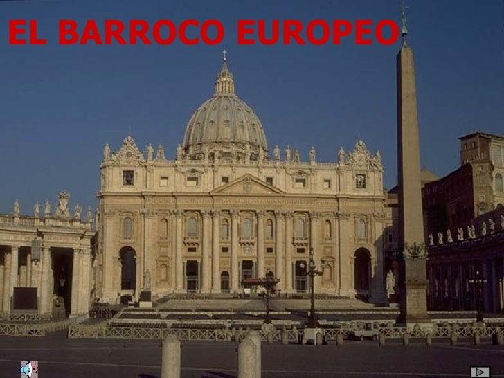 EL BARROCO EUROPEO