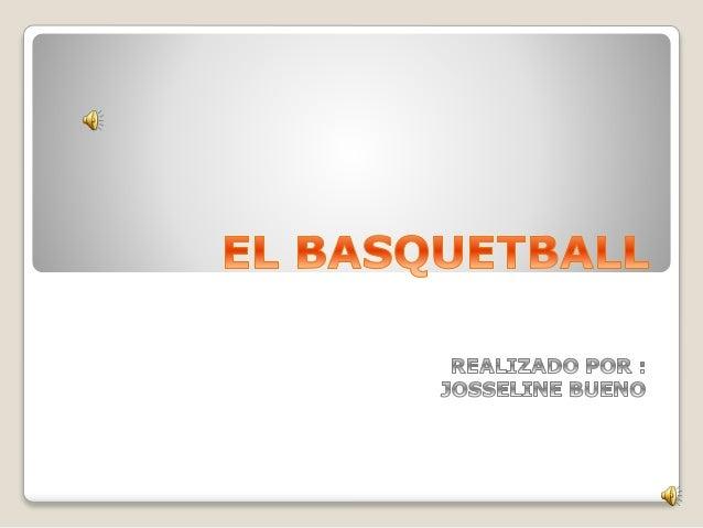 El baloncesto, basquetbol o básquetbol (del inglés b  asketball; de basket, 'canasta', y ball, 'pelota'), o  simplementebá...