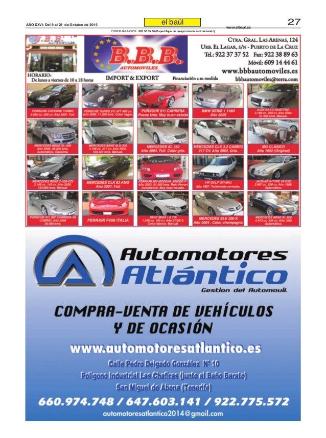 Periódico El Baúl segunda mano edición Tenerife http://www.elbaul.es
