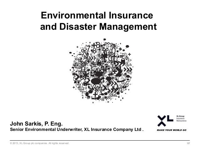 Environmental Law for Business Seminar: Disaster Management