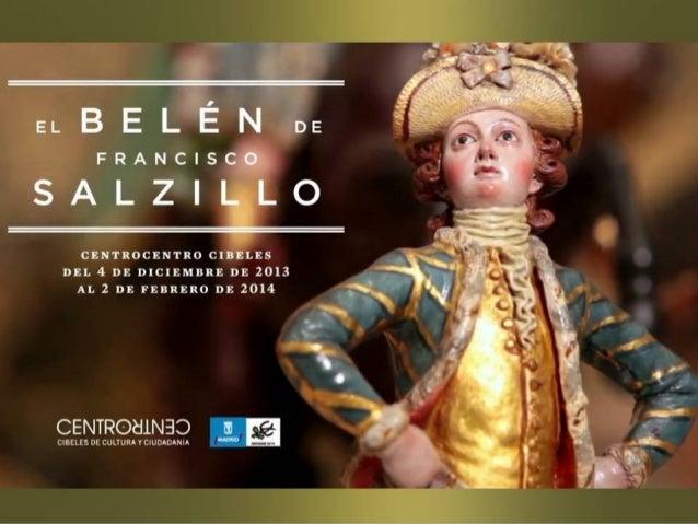 CentroCentro se exhiben 297 PIEZAS, así como las arquitecturas  Belén de Salzillo en CentroCentro Cibeles de Madrid