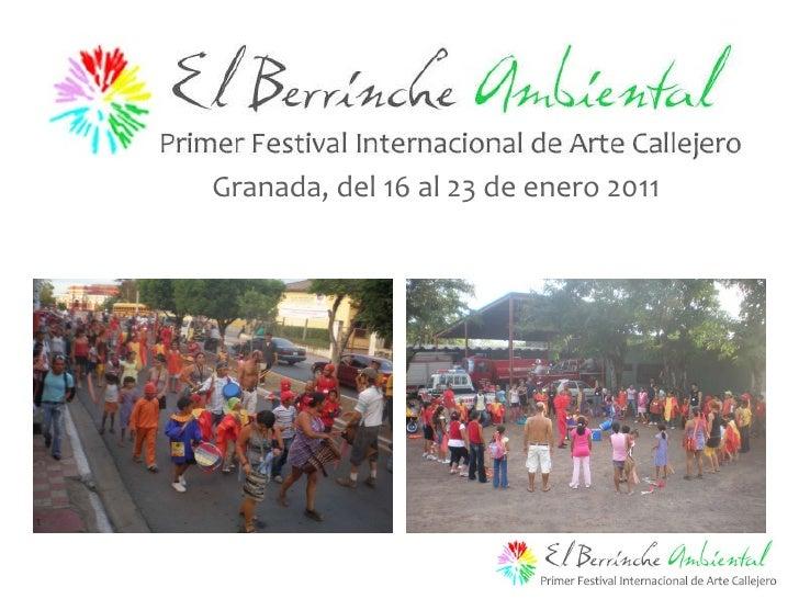 Granada, del 16 al 23 de enero 2011