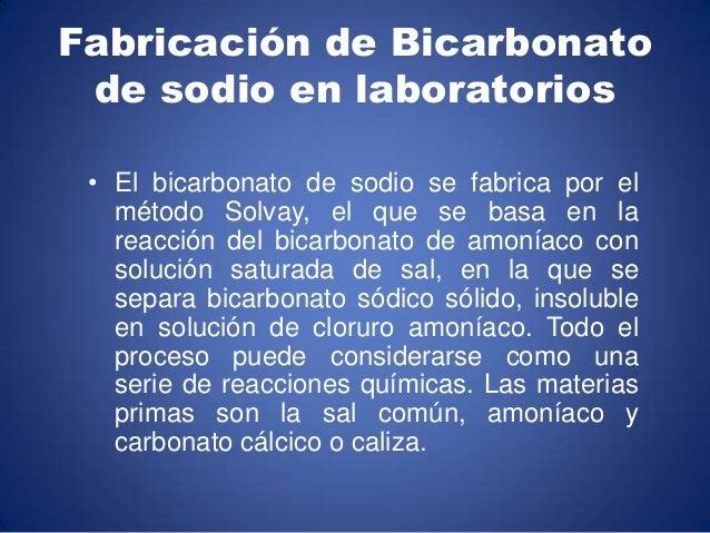 El bicarbonato de sodio en la naturaleza y for Como se extrae el marmol