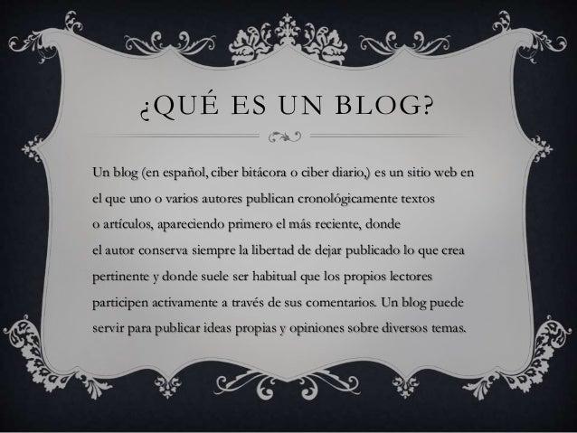 El blog Slide 2