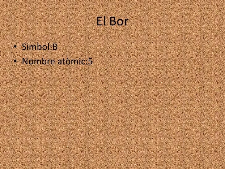 El Bor