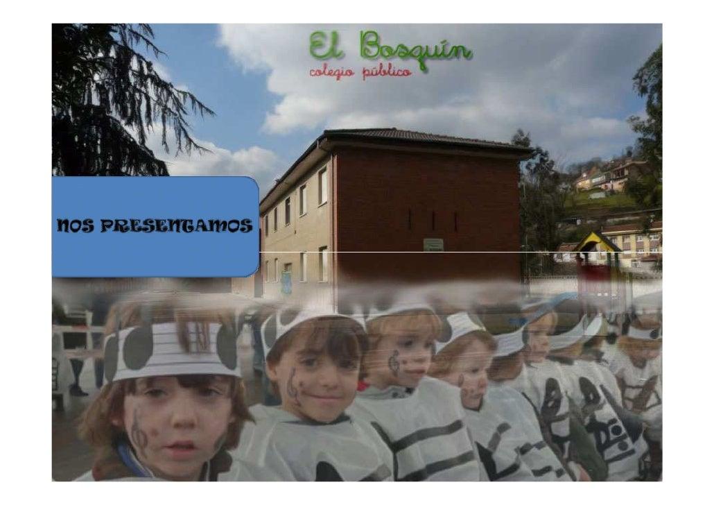 Alumnos de 5º y 6º de Primaria del C.P El Bosquín                                       Estos somos nosotros, los         ...