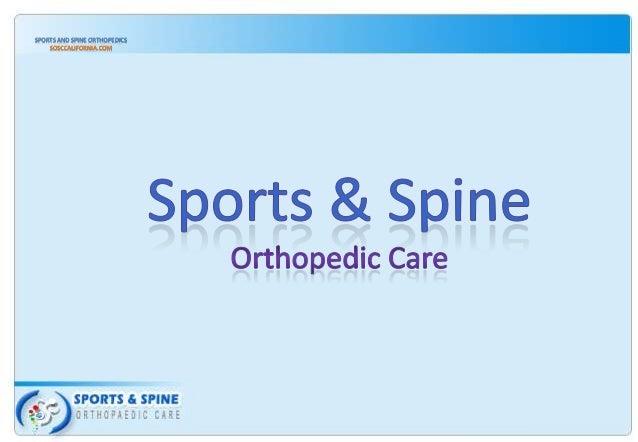 SPORTS AND SPINE ORTHOPEDICS SOSCCALIFORNIA.COM
