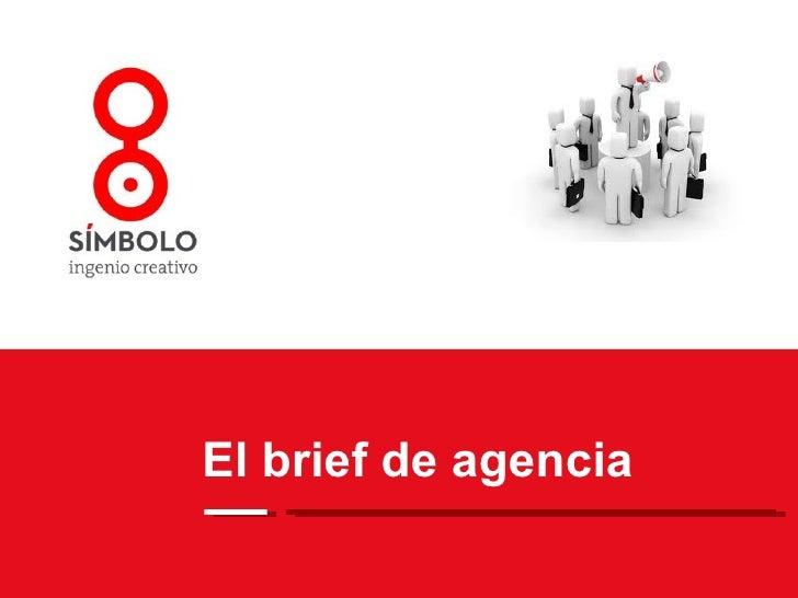 El brief de agencia
