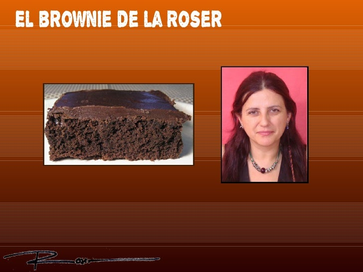 El brownie de la Roser