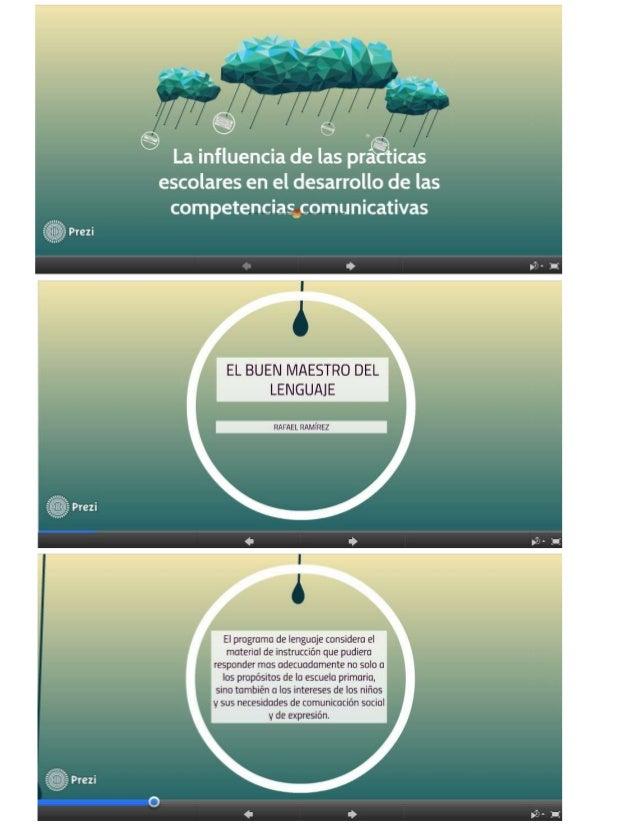 """""""¿fi  @ e     N La influencia de las pr icas escolares en el desarrollo de las competencias comunicativas  EL BUEN MAESTRO ..."""