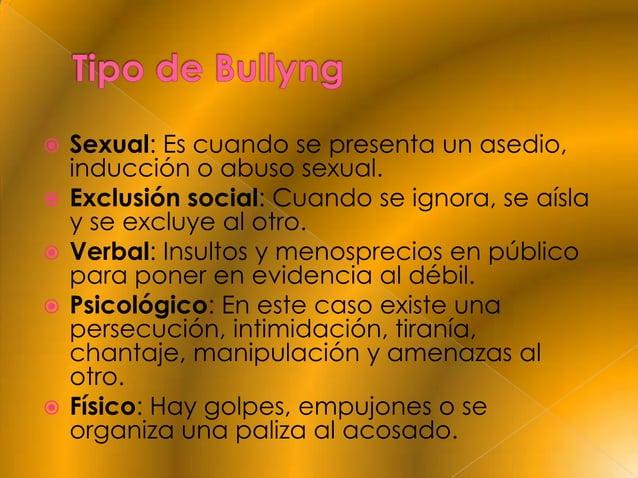    Personales: Un niño que actúa de manera    agresiva sufre intimidaciones o algún tipo    de abuso en la escuela o en l...