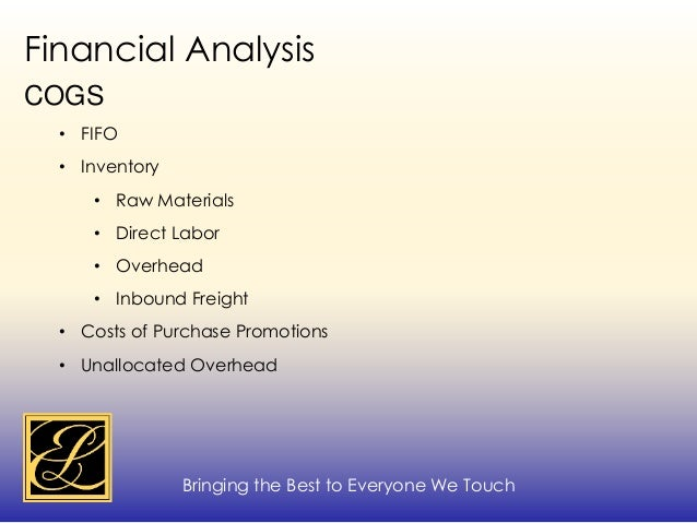 estee lauder financial ratio analysis Estee lauder has a considerably higher debt to total assets ratio which means a majority of their assets have been financed by debt cash debt coverage ratio is the operating cash flow of the company and its ability to use the cash to meet obligations.