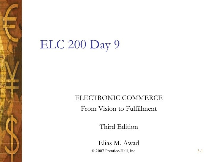 ELC 200 Day 9