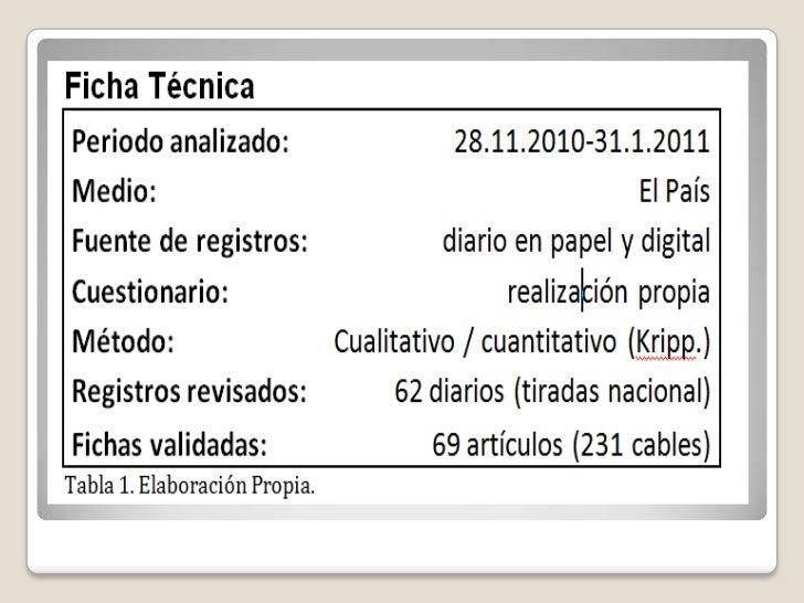 El 'cablegate' en El País ¿El renacer del periodismo de investigación? Slide 3