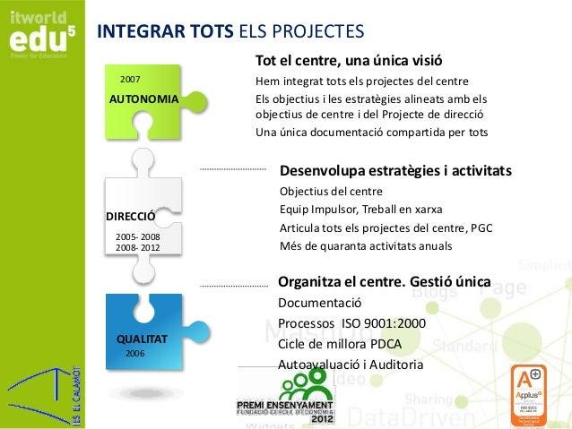 El Calamot: Projecte de renovació global d'un institut públic Slide 3