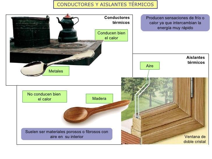 El calor y la temperatura 2012 - Materiales aislantes de frio ...