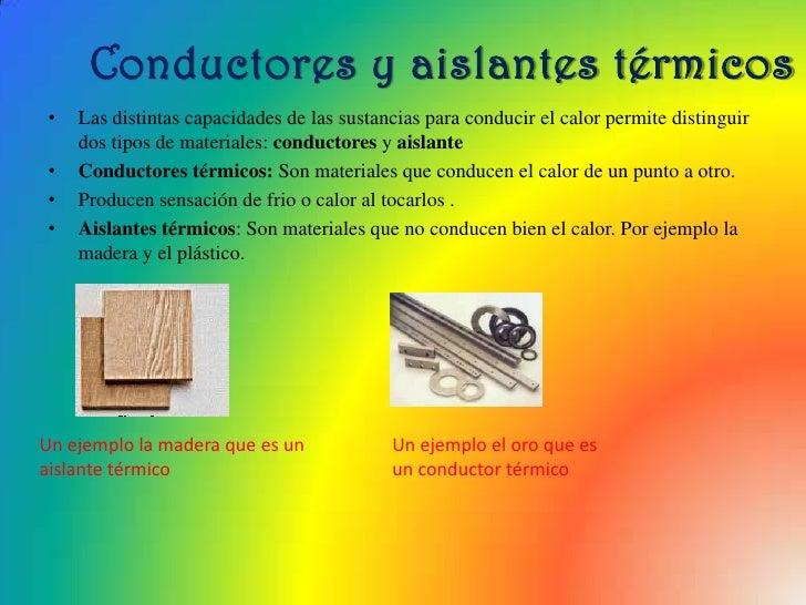 El calor y la temperatura cristina beatriz y marta - Materiales aislantes termicos ...