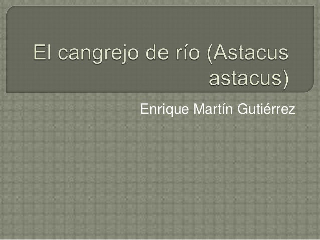 Enrique Martín Gutiérrez