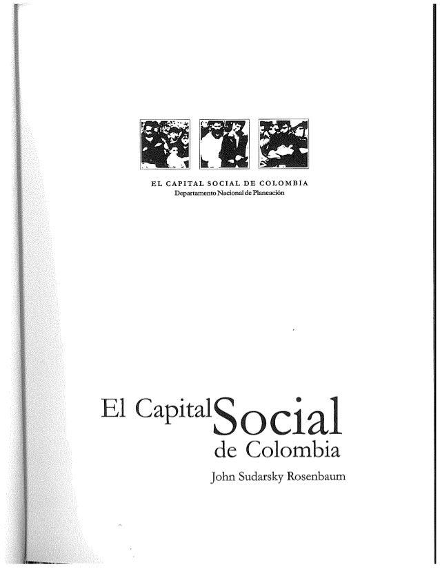 El capital social de Colombia Slide 2