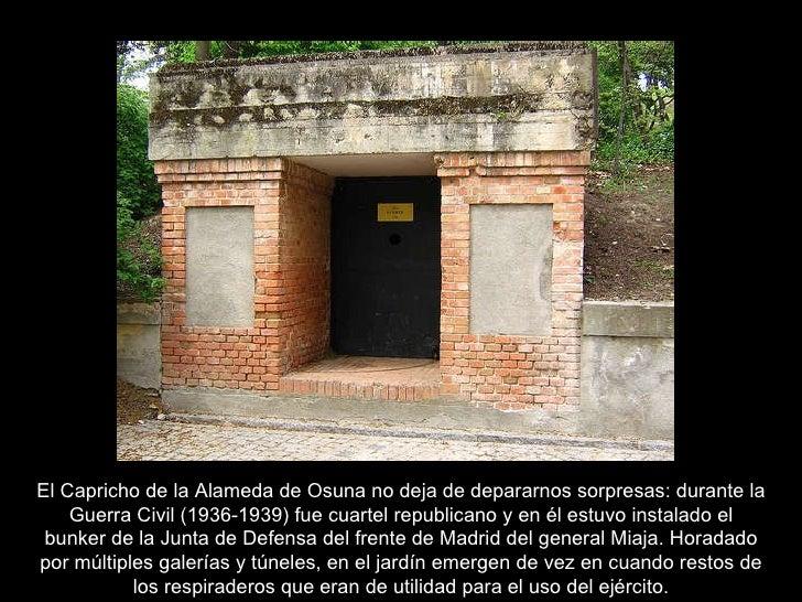 El Capricho Alameda De Osuna Madrid