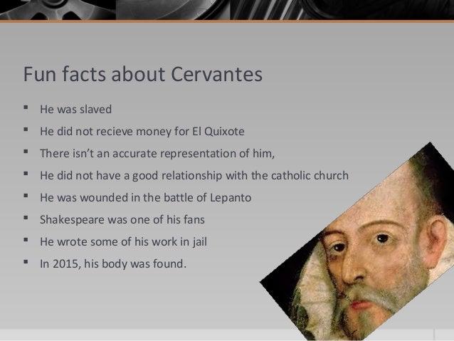 miguel de cervantes interesting facts