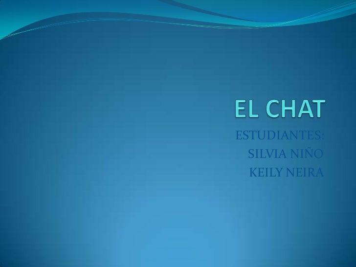 ESTUDIANTES:  SILVIA NIÑO  KEILY NEIRA