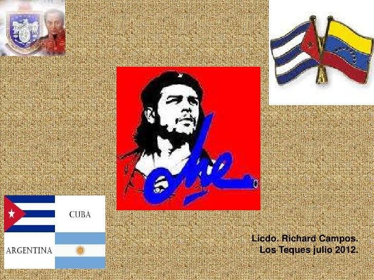 Licdo. Richard Campos.  Los Teques julio 2012.