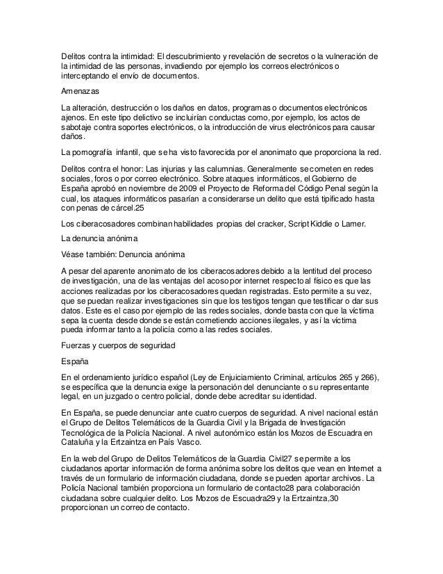 El ciberacoso - Casos de ciberacoso en espana ...