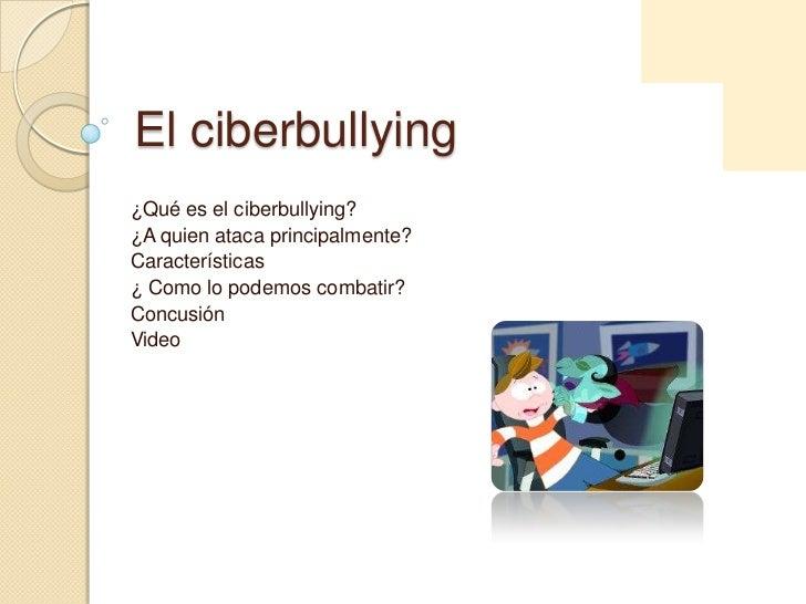 El ciberbullying - Como combatir la condensacion ...