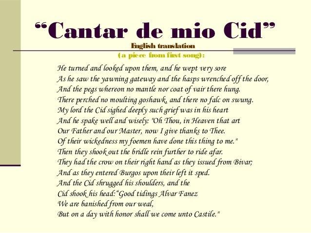 El Cid Presentation New