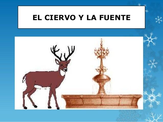 EL CIERVO Y LA FUENTE