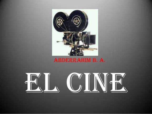Abderrahim B. A.El cine