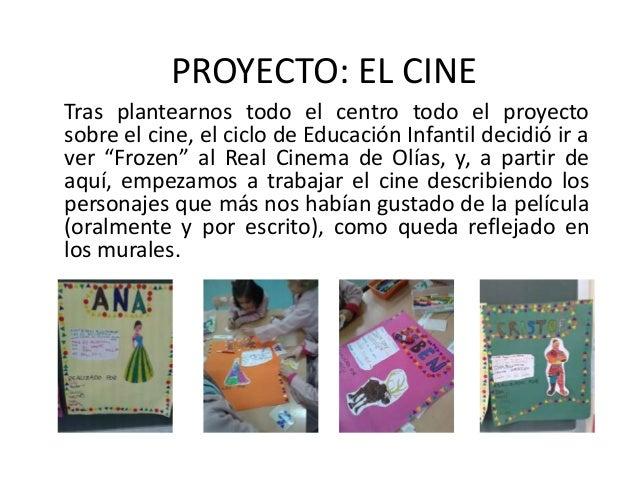 Proyecto segundo trimestre el cine for El mural pelicula