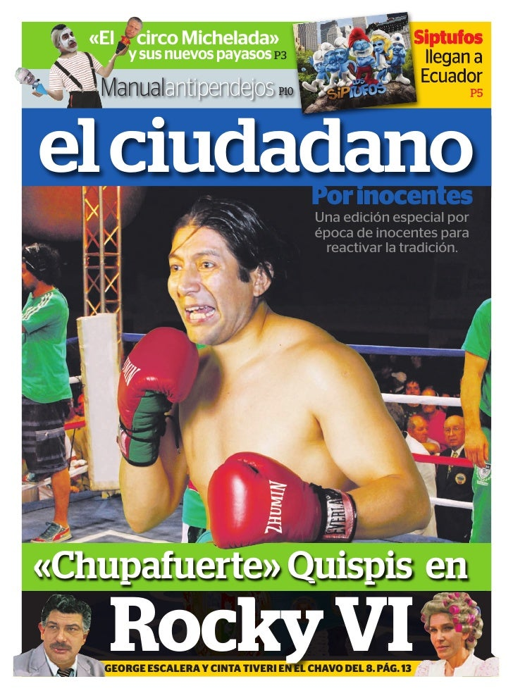 «El    circo Michelada»                                      Siptufos         y sus nuevos payasos P3                     ...