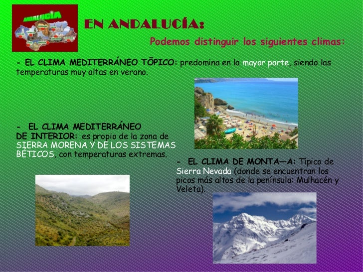 El clima de espa a tema 9 for Clima mediterraneo de interior