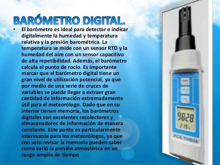 Instrumentos para medir el clima y la humedad - Humedad relativa ideal ...