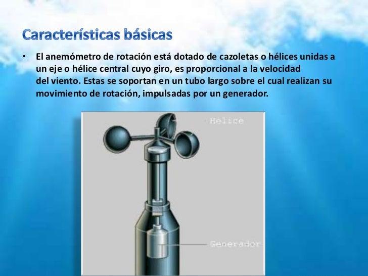INSTRUMENTOS PARA MEDIR EL CLIMA Y LA HUMEDAD