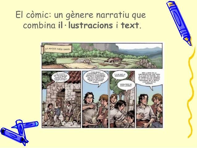 El còmic 1. conceptes generals. orígens. estructura. elements textuals   jmc Slide 2