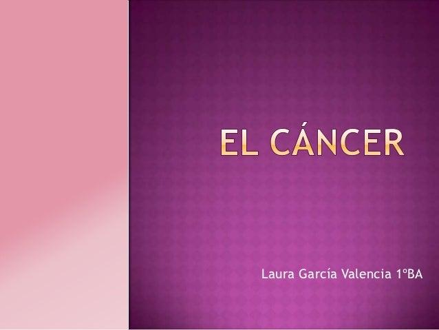 Laura García Valencia 1ºBA