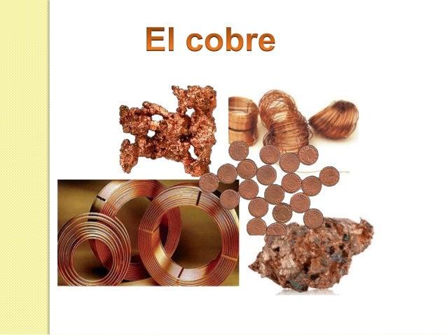 El cobre - Objetos de cobre ...