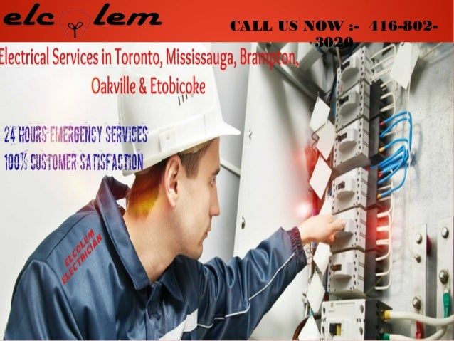 mississauga emergency electricians electrical contractors toronto rh slideshare net AT&T Wiring Technician Cable Technician