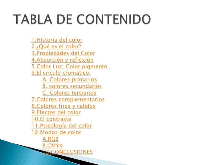 El filósofo Aristóteles (384 - 322 AC) definió que todoslos colores se conforman con la mezcla de cuatrocolores y además o...
