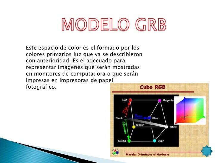 El modelo CMYK se basa en la cualidadde absorber y rechazar luz de losobjetos. Si un objeto es rojo estosignifica que el m...