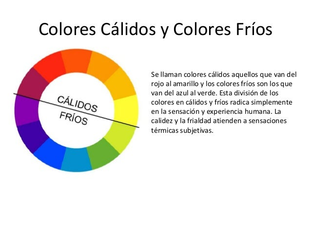 El color - Cuales son los colores calidos y frios ...