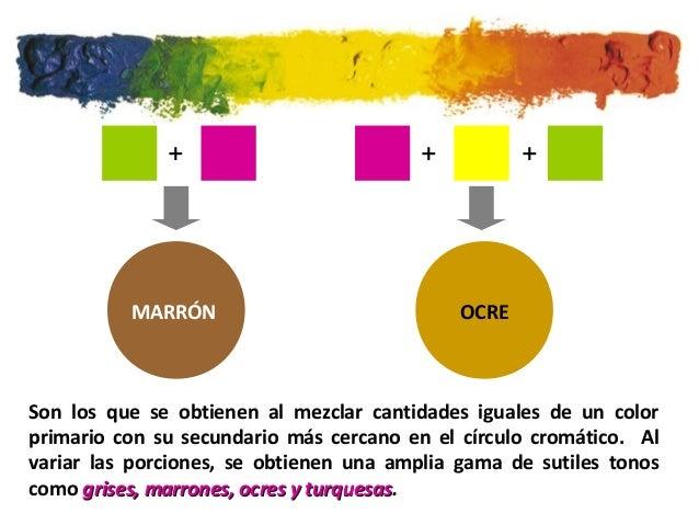 El color para 2 - Cual es el color ocre ...