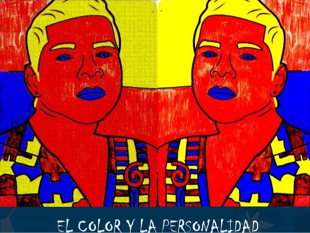 EL COLOR Y LA PERSONALIDAD