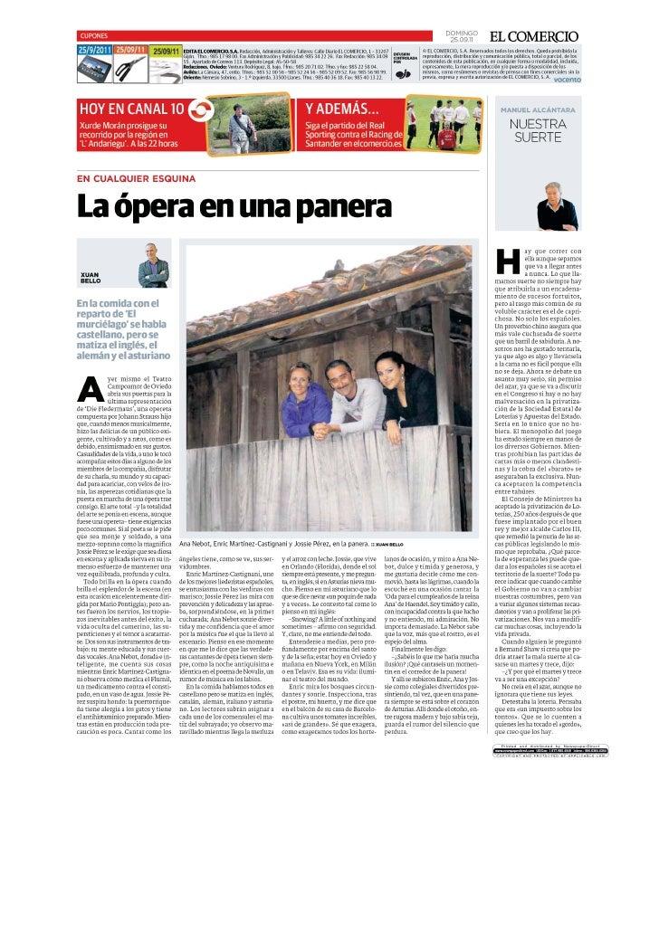 Enric Mtz-Castignani en la Opera de Oviedo