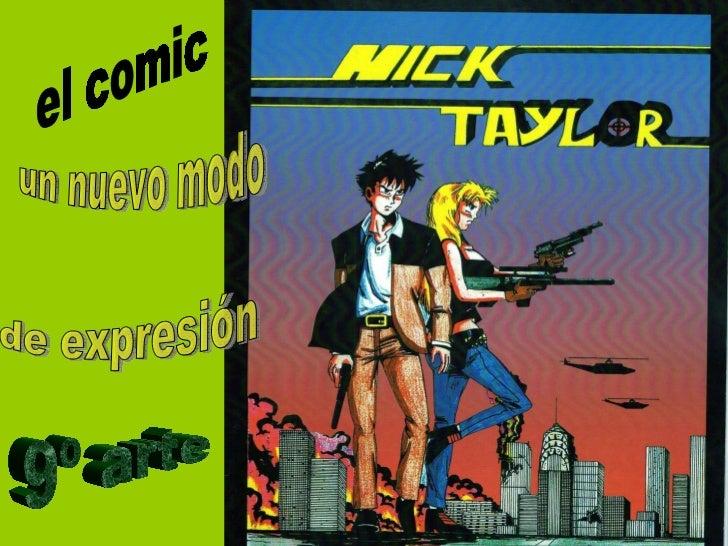 el comic un nuevo modo de expresión 9º arte