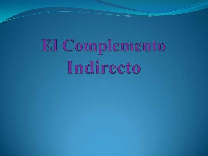Learn Spanish: objeto indirecto - 123teachme.com