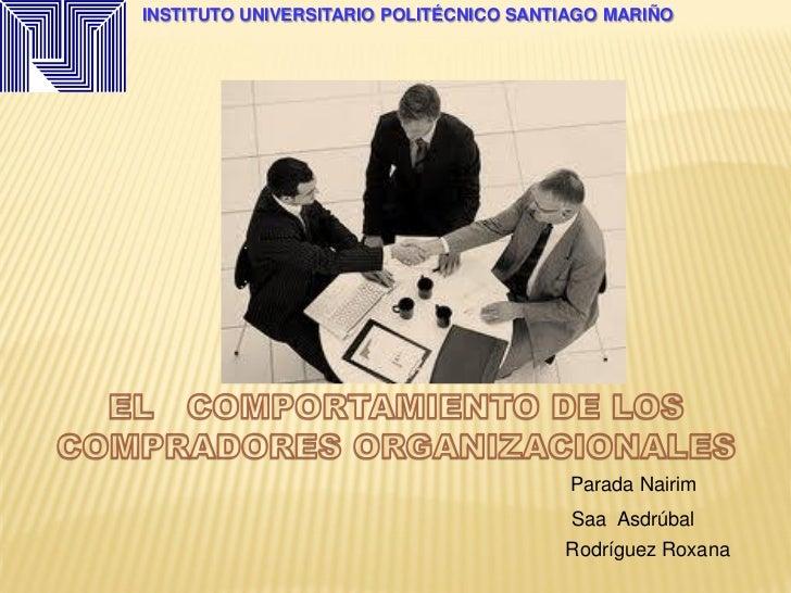 INSTITUTO UNIVERSITARIO POLITÉCNICO SANTIAGO MARIÑO                                         Parada Nairim                 ...